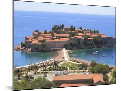Sveti Stefan, Montenegro, Europe-Rolf Richardson-Mounted Photographic Print
