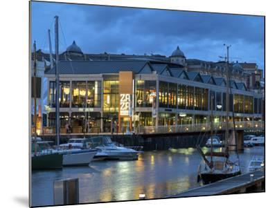 Harbourside Bars and Restaurants, Bristol, England, United Kingdom, Europe-Rob Cousins-Mounted Photographic Print