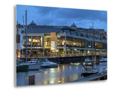 Harbourside Bars and Restaurants, Bristol, England, United Kingdom, Europe-Rob Cousins-Metal Print