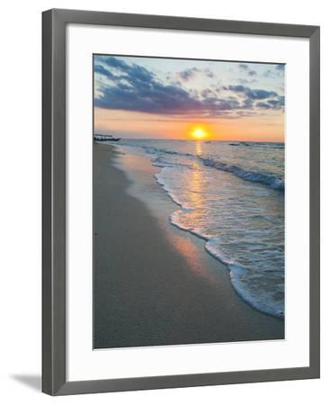 Sunset on the Tropical Island of Gili Trawangan, Gili Islands, Indonesia, Southeast Asia, Asia-Matthew Williams-Ellis-Framed Photographic Print