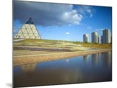 Palace of Peace and Reconciliation Pyramid Designed by Sir Norman Foster, Astana, Kazakhstan-Jane Sweeney-Mounted Photographic Print