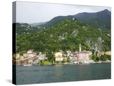 View of Varenna, Lake Como, Lombardy, Italian Lakes, Italy, Europe-Peter Barritt-Stretched Canvas Print