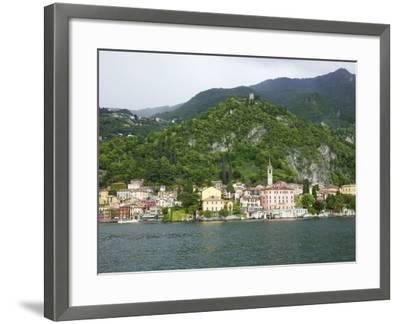 View of Varenna, Lake Como, Lombardy, Italian Lakes, Italy, Europe-Peter Barritt-Framed Photographic Print