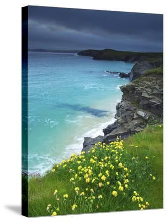 Mother Ivey's Bay, Padstow, Cornwall, England, United Kingdom, Europe-Jeremy Lightfoot-Stretched Canvas Print