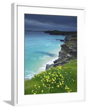 Mother Ivey's Bay, Padstow, Cornwall, England, United Kingdom, Europe-Jeremy Lightfoot-Framed Photographic Print