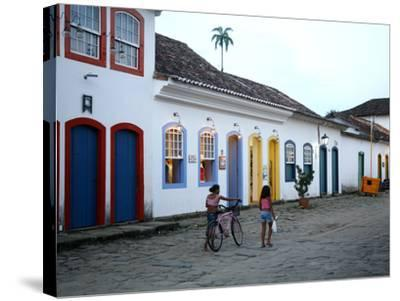 Parati, Rio de Janeiro State, Brazil, South America-Yadid Levy-Stretched Canvas Print