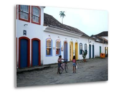 Parati, Rio de Janeiro State, Brazil, South America-Yadid Levy-Metal Print