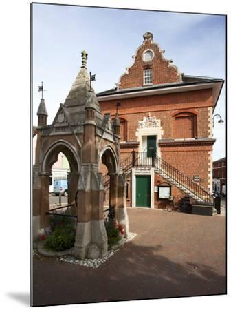 Market Cross and Shire Hall on Market Hill, Woodbridge, Suffolk, England, United Kingdom, Europe-Mark Sunderland-Mounted Photographic Print