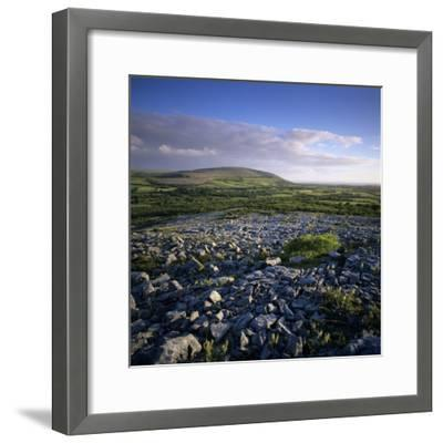 Limestone Pavement, the Burren, County Clare, Munster, Republic of Ireland, Europe-Stuart Black-Framed Photographic Print