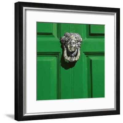 Georgian Door, Dublin, County Dublin, Republic of Ireland, Europe-Stuart Black-Framed Photographic Print