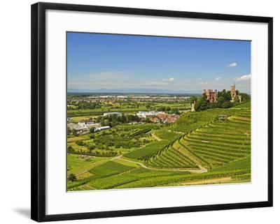 Ortenberg Castle, Ortenberg, Ortenau, Baden-Wurttemberg, Germany, Europe-Jochen Schlenker-Framed Photographic Print