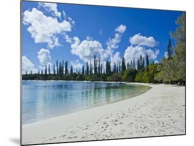 White Sand Beach, Bay de Kanumera, Ile Des Pins, New Caledonia, Melanesia, South Pacific, Pacific-Michael Runkel-Mounted Photographic Print