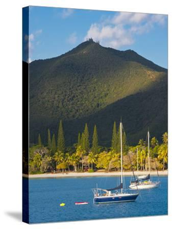 The Bay de Kuto, Ile Des Pins, New Caledonia, Melanesia, South Pacific-Michael Runkel-Stretched Canvas Print