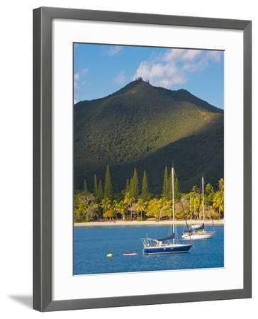 The Bay de Kuto, Ile Des Pins, New Caledonia, Melanesia, South Pacific-Michael Runkel-Framed Photographic Print