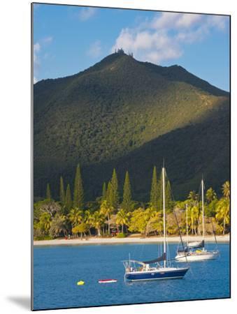 The Bay de Kuto, Ile Des Pins, New Caledonia, Melanesia, South Pacific-Michael Runkel-Mounted Photographic Print