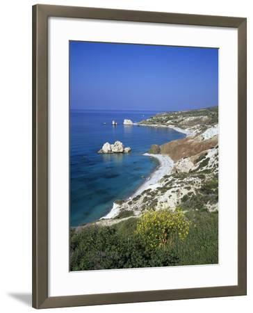 Aphrodite's Rock, Paphos, UNESCO World Heritage Site, South Cyprus, Cyprus, Mediterranean, Europe-Stuart Black-Framed Photographic Print