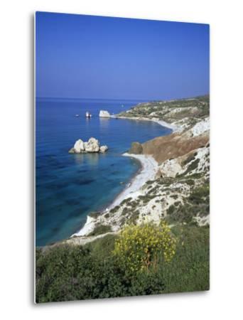 Aphrodite's Rock, Paphos, UNESCO World Heritage Site, South Cyprus, Cyprus, Mediterranean, Europe-Stuart Black-Metal Print