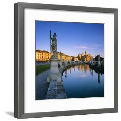 Prato della Valle and Santa Giustina, Padua, Veneto, Italy, Europe-Stuart Black-Framed Photographic Print