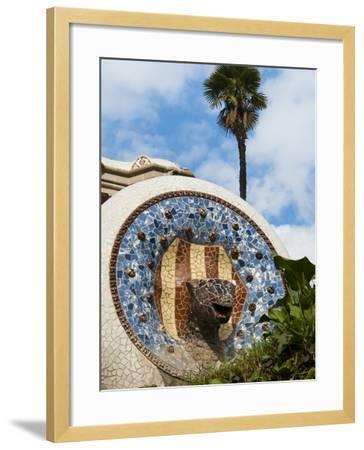 Guell Park (Parc Guell), UNESCO World Heritage Site, Barcelona, Catalunya (Catalonia), Spain-Nico Tondini-Framed Photographic Print