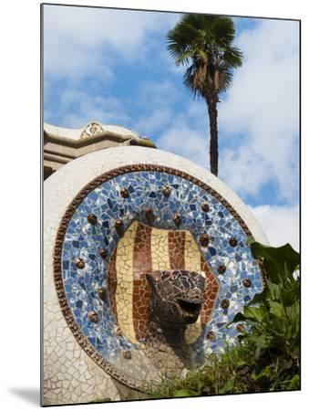 Guell Park (Parc Guell), UNESCO World Heritage Site, Barcelona, Catalunya (Catalonia), Spain-Nico Tondini-Mounted Photographic Print