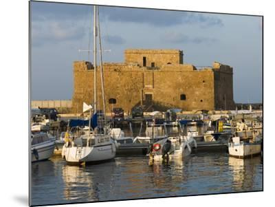 The Harbour and Paphos Fort, Paphos, Cyprus, Mediterranean, Europe-Stuart Black-Mounted Photographic Print