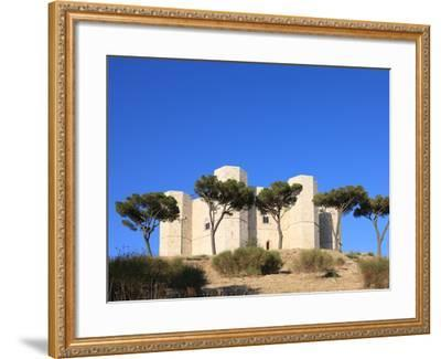 Castel del Monte (Federico II Castle), UNESCO World Heritage Site, Puglia, Italy, Europe-Vincenzo Lombardo-Framed Photographic Print