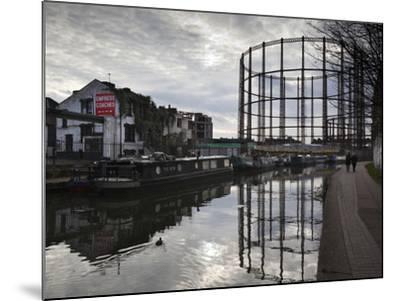 Grand Union Canal, Hackney, London, England, United Kingdom, Europe-Stuart Black-Mounted Photographic Print