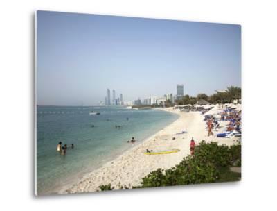 Abu Dhabi, United Arab Emirates, Middle East-Angelo Cavalli-Metal Print
