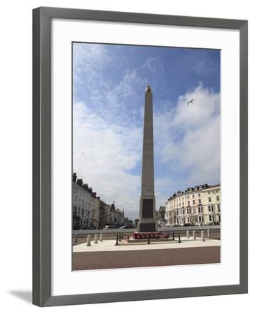 World War I Memorial, Llandudno, Conwy County, North Wales, Wales, United Kingdom, Europe-Wendy Connett-Framed Photographic Print