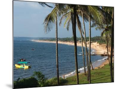 View Along Sinquerim Beach, Fort Aguada, Goa, India, Asia-Stuart Black-Mounted Photographic Print