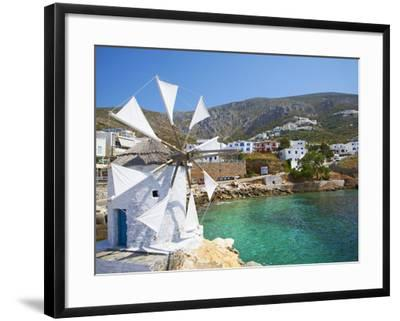 Aigiali Town and Port, Amorgos, Cyclades, Aegean, Greek Islands, Greece, Europe-Tuul-Framed Photographic Print