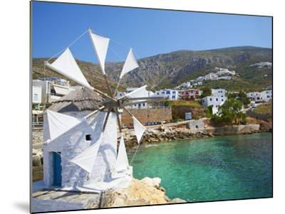 Aigiali Town and Port, Amorgos, Cyclades, Aegean, Greek Islands, Greece, Europe-Tuul-Mounted Photographic Print