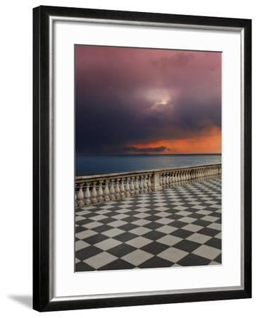 Storm from the Terrace-Marco Carmassi-Framed Photographic Print
