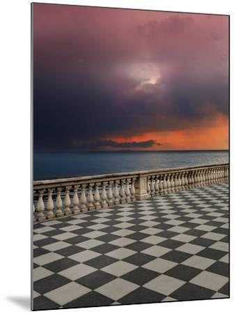 Storm from the Terrace-Marco Carmassi-Mounted Photographic Print