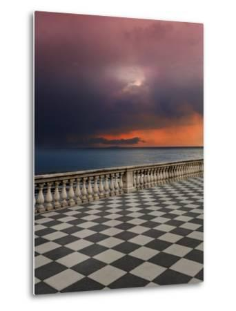 Storm from the Terrace-Marco Carmassi-Metal Print