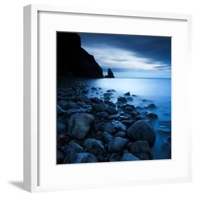 Talisker Bay under a Winter Moon-Doug Chinnery-Framed Photographic Print