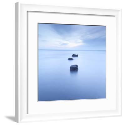 Three Rocks-Doug Chinnery-Framed Photographic Print