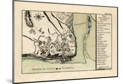 1764, Quebec--Mounted Giclee Print