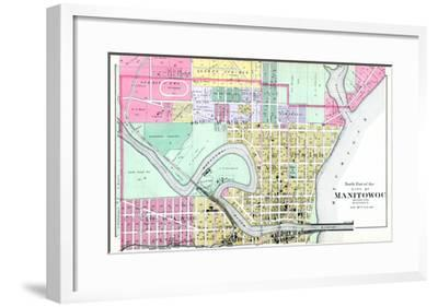 1893, Manitowoc City - North, Wisconsin, United States--Framed Giclee Print