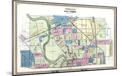 1899, Warren City - North, Ohio, United States--Mounted Giclee Print