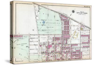 1929, Wissinoming Park, Philadelphia, Yellow Jackets, Philadelphia Eagles, Pennsylvania, USa--Stretched Canvas Print