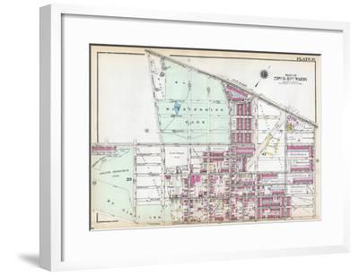 1929, Wissinoming Park, Philadelphia, Yellow Jackets, Philadelphia Eagles, Pennsylvania, USa--Framed Giclee Print