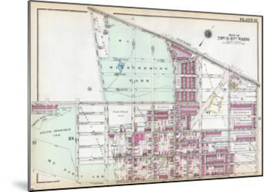 1929, Wissinoming Park, Philadelphia, Yellow Jackets, Philadelphia Eagles, Pennsylvania, USa--Mounted Giclee Print