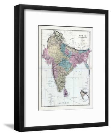 1873, India, Hindostan--Framed Giclee Print