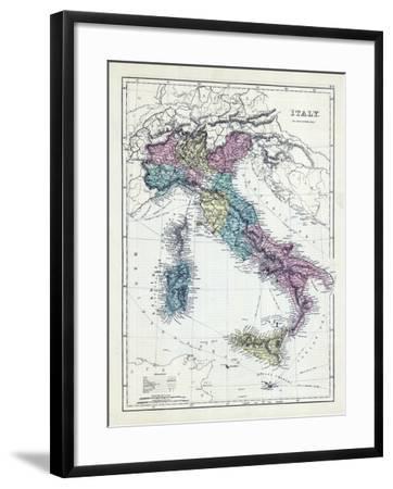 1873, Italy--Framed Giclee Print