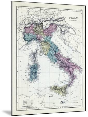 1873, Italy--Mounted Giclee Print