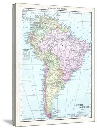 1913, South America--Stretched Canvas Print