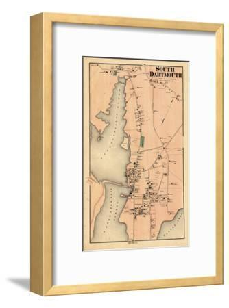 1871, Dartmouth South, South Dartmouth, Massachusetts, United States--Framed Giclee Print
