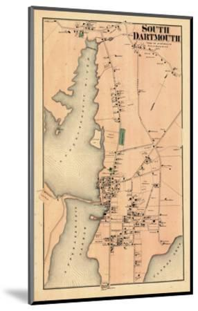 1871, Dartmouth South, South Dartmouth, Massachusetts, United States--Mounted Giclee Print