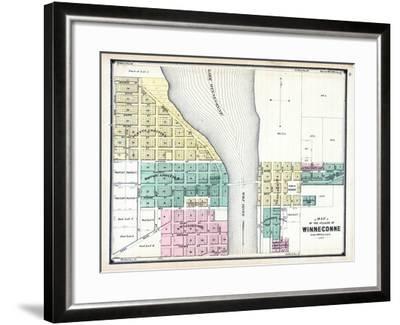 1889, Winneconne, Wisconsin, United States--Framed Giclee Print